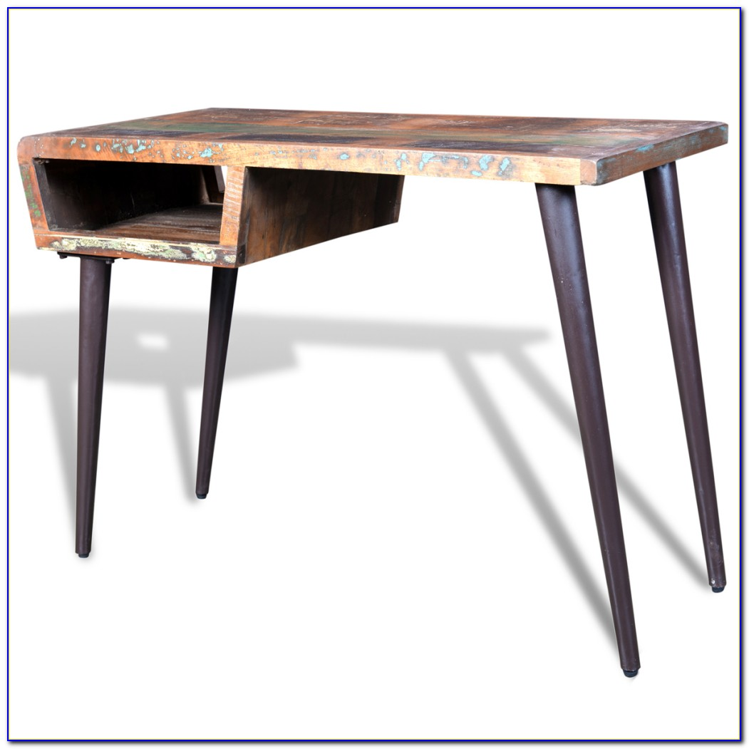 Pottery Barn Reclaimed Wood Desk