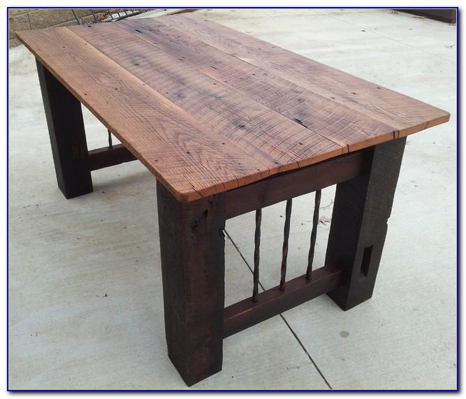 Reclaimed Barn Wood Table Tops