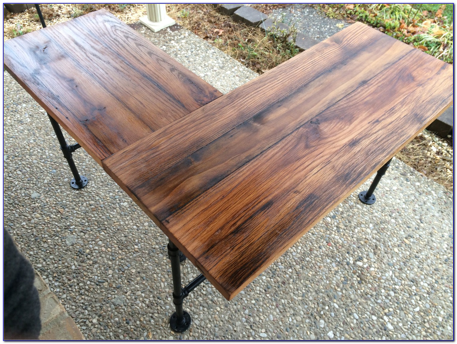 Reclaimed Barn Wood Writing Desk