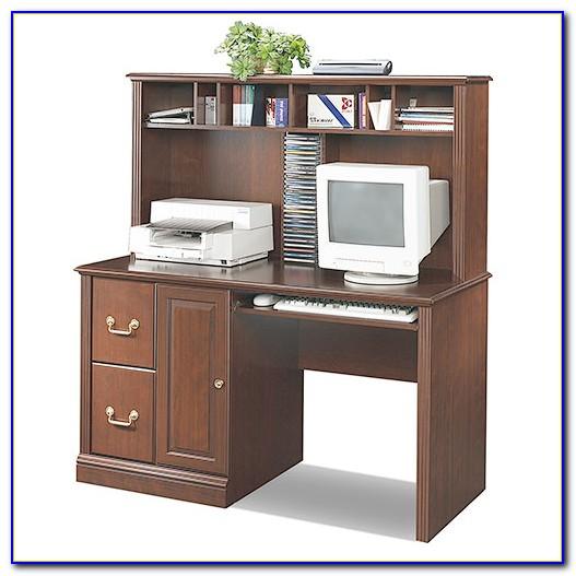 Sauder Cherry Corner Computer Desk