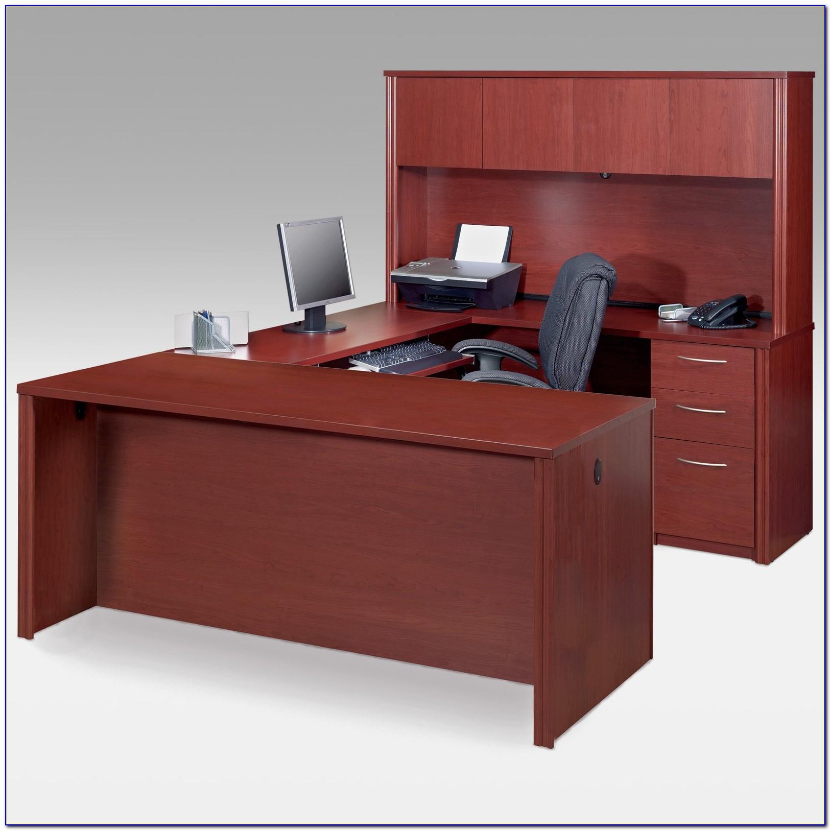 Sauder U Shaped Computer Desk
