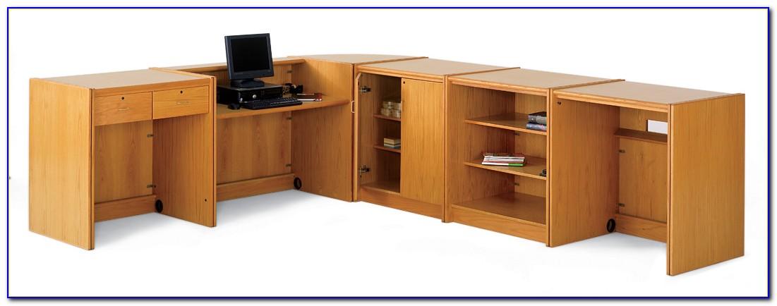 School Library Furniture Circulation Desk