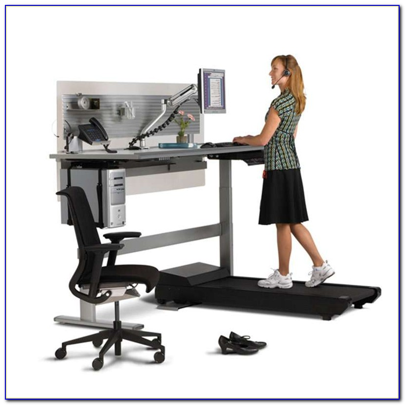 Signature Sit To Stand Treadmill Desk