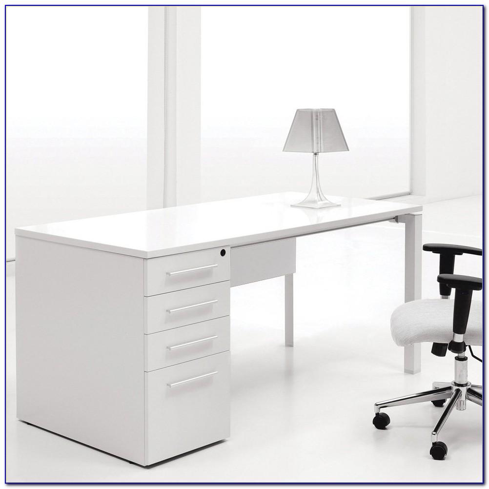 Single Pedestal Roll Top Computer Desk