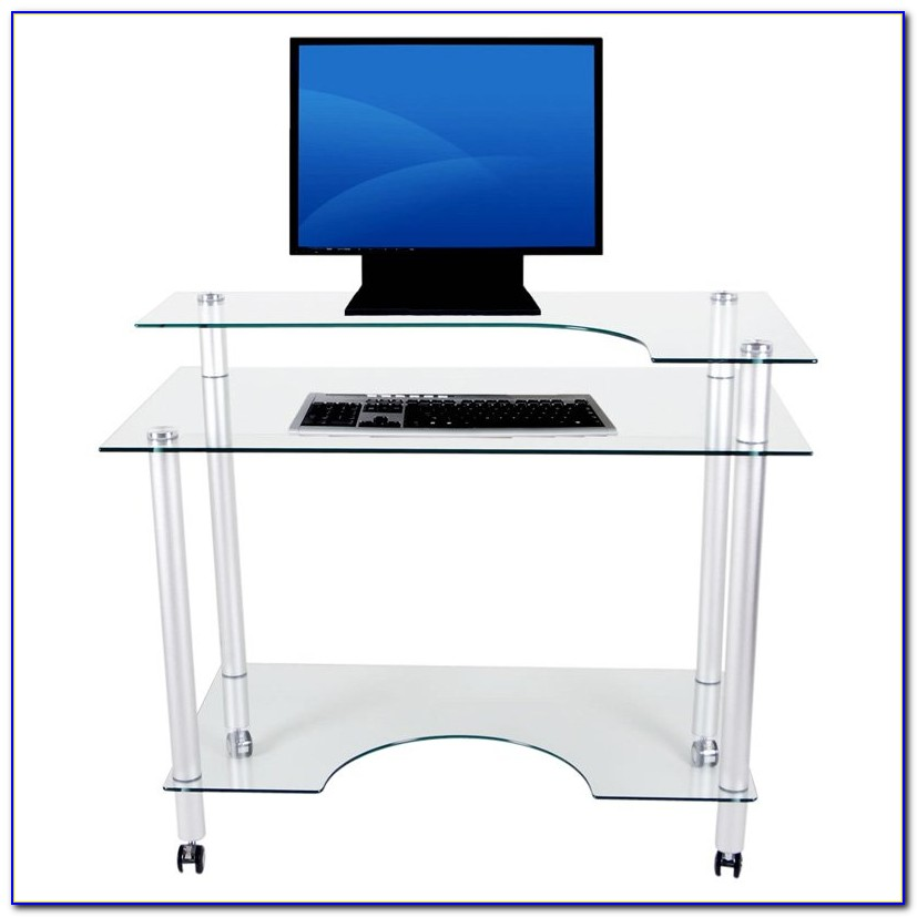 Small Computer Desk On Casters