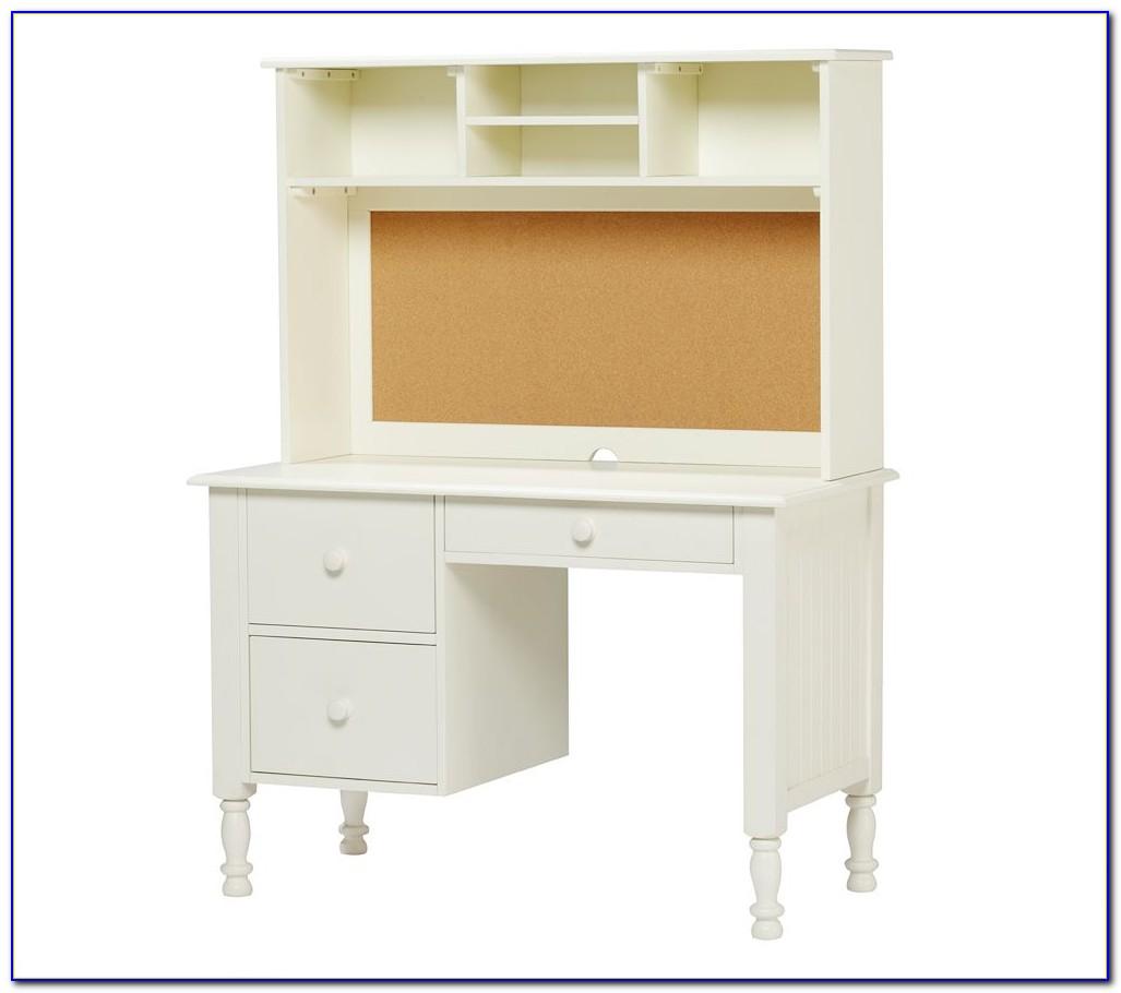 Small Desk Secretary Hutch