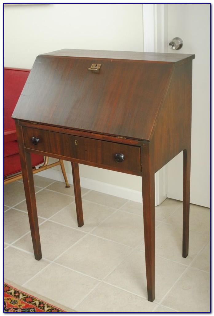 Small Drop Front Desk