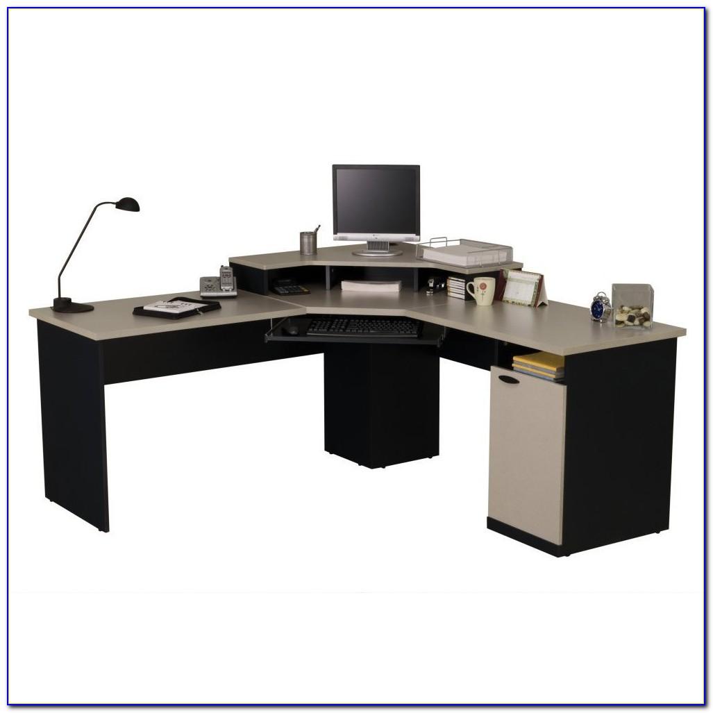 Small Home Office Corner Computer Desk