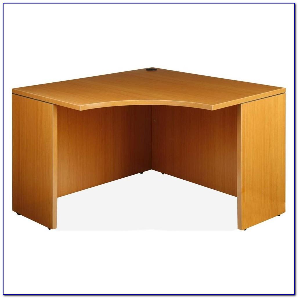 Small Solid Wood Corner Desk