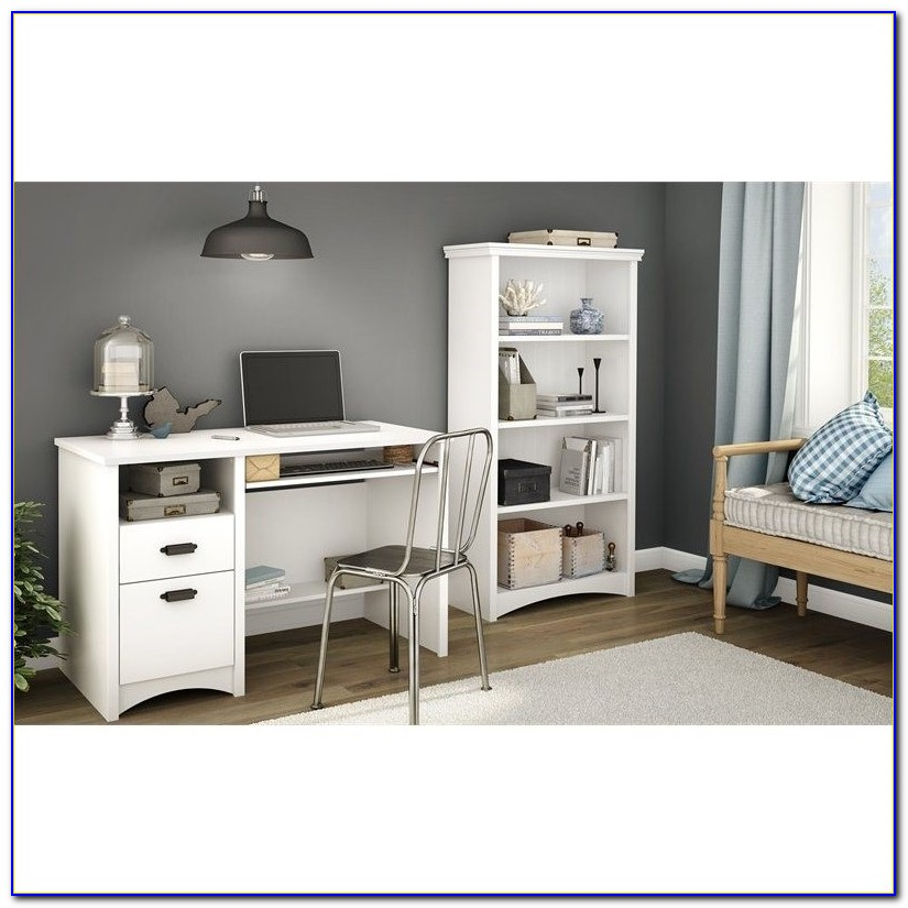 South Shore Gascony Computer Desk Multiple Finishes