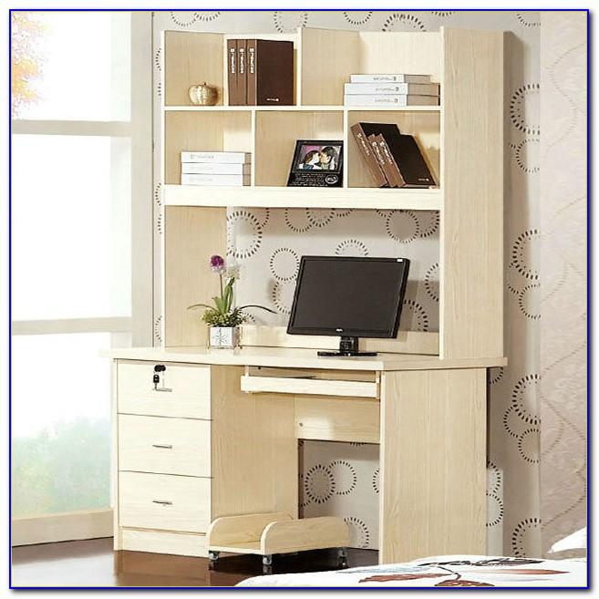 Study Table With Bookshelf Design