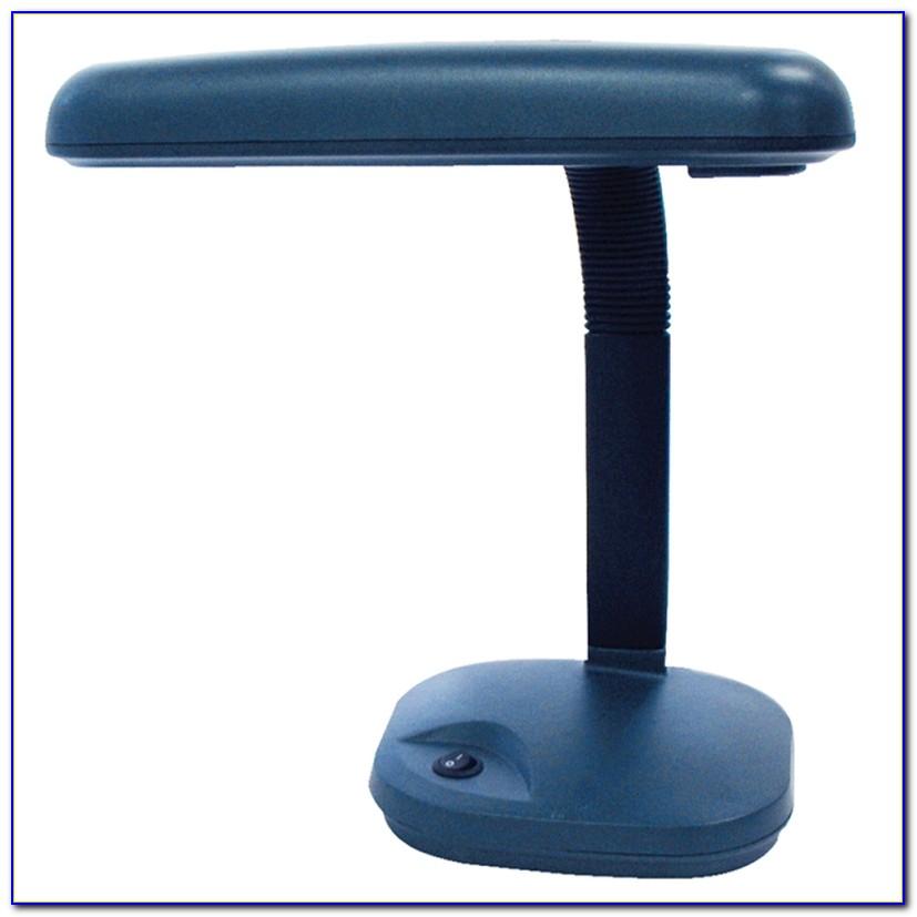 Swing Arm Compact Fluorescent Desk Lamp
