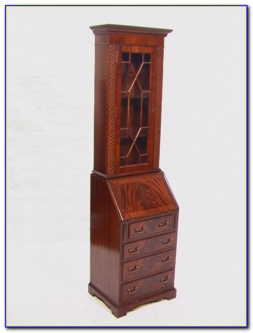 Tall Narrow Secretary Desk