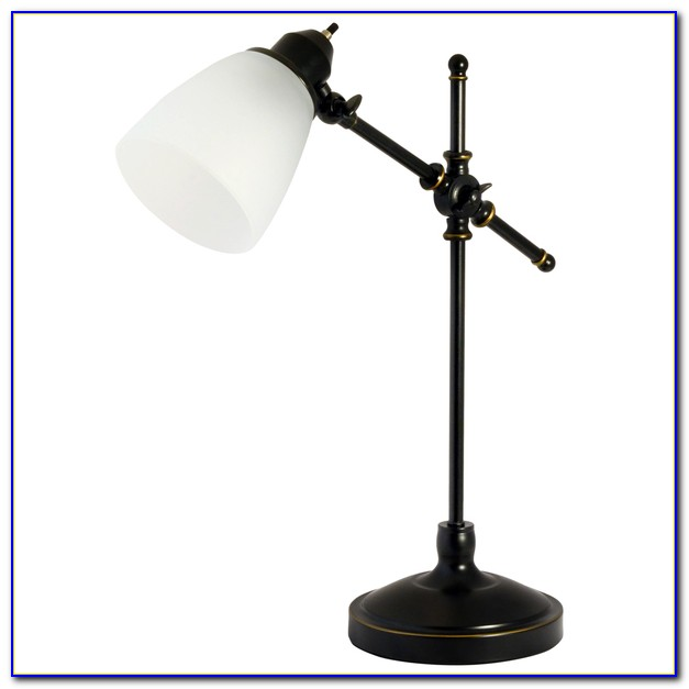 Torchiere Table Lamp Glass Shade