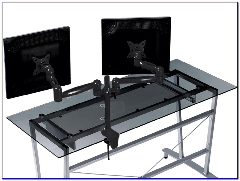 Triple Monitor Desk Mount Bracket