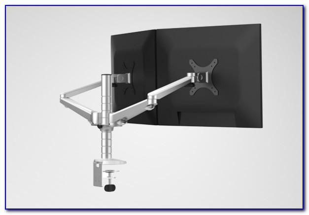 Triple Monitor Desk Mount