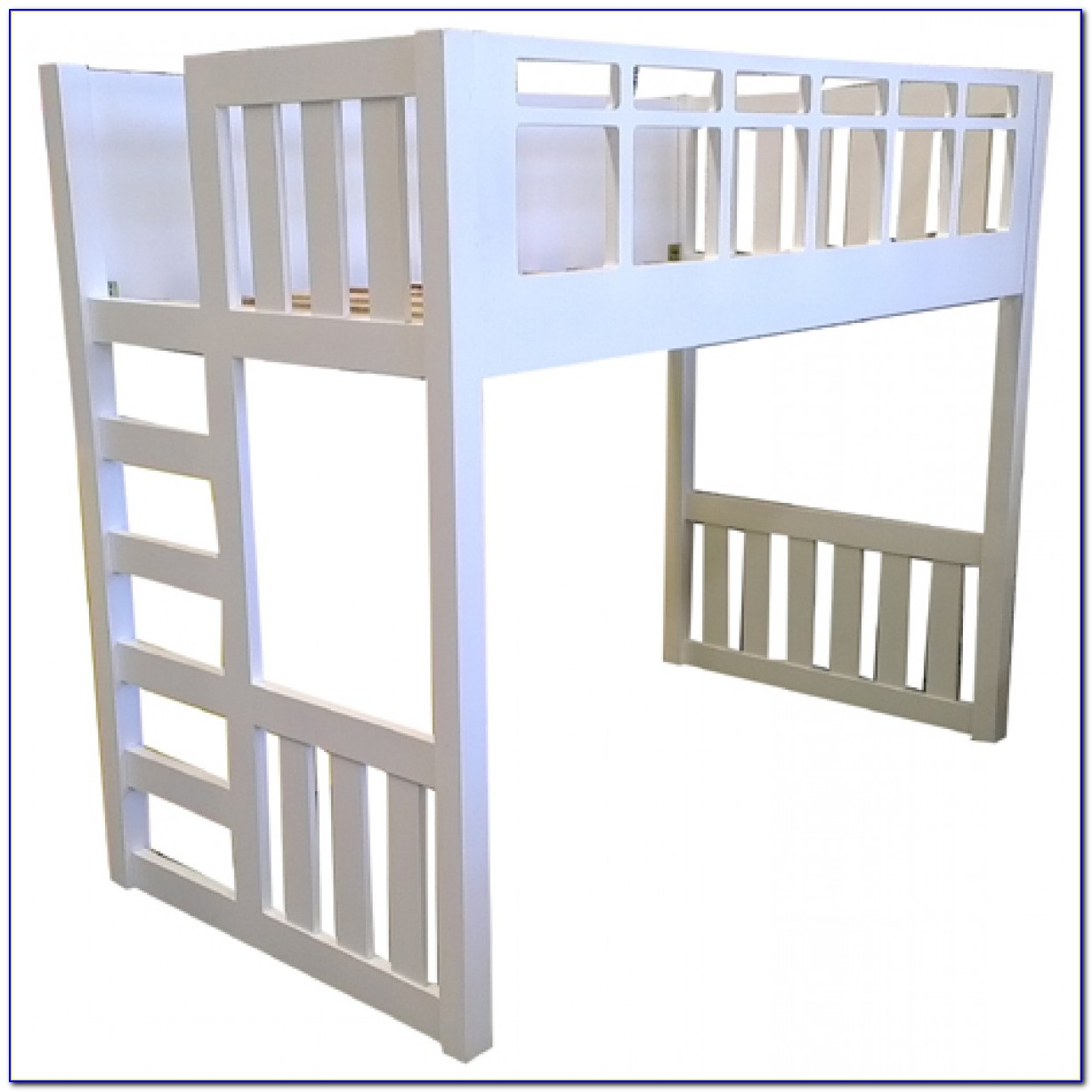 Used King Single Loft Bed With Desk