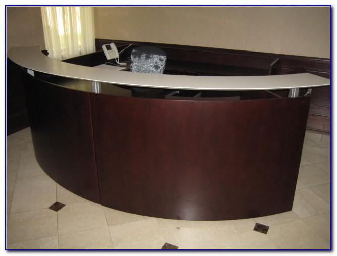 Used Office Reception Desk