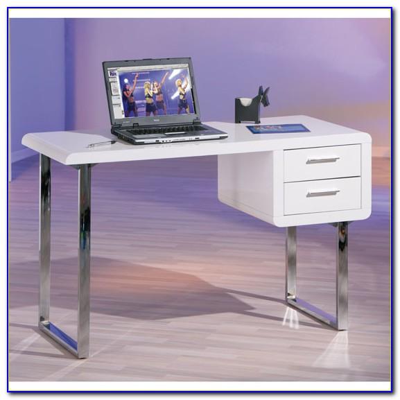 Viva High Gloss Office Desk