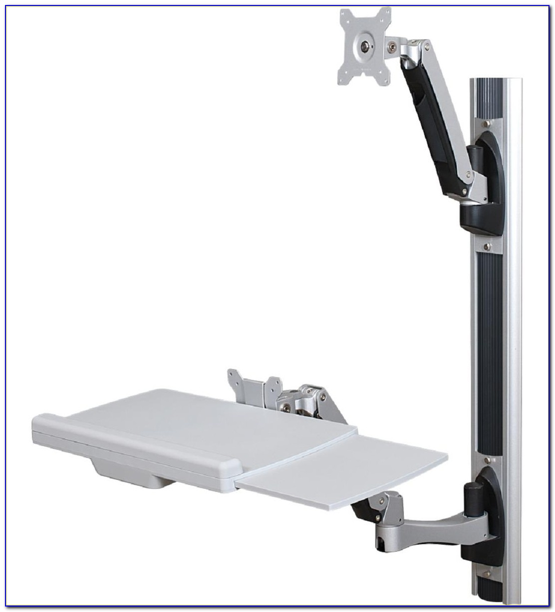 Wall Mounted Folding Desk Brackets