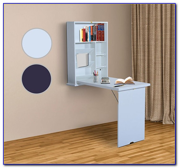 Wall Mounted Folding Desk White