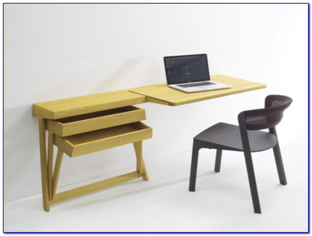 Wall Mounted Folding Desks