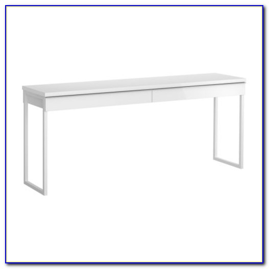 White Gloss Desk Ikea