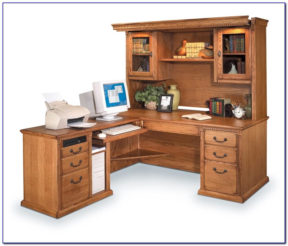 White Hutch For A Desk