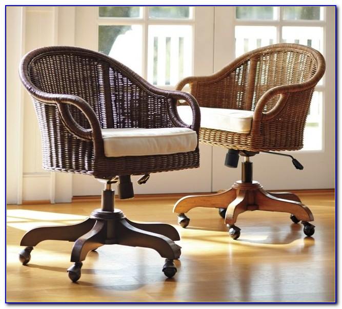 Wingate Rattan Desk Chair