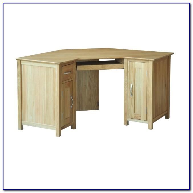 Wood Corner Computer Desks
