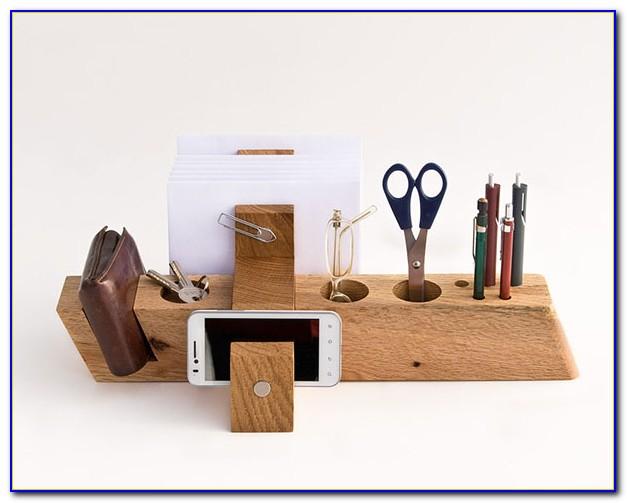 Wooden Desktop Bill Organizer