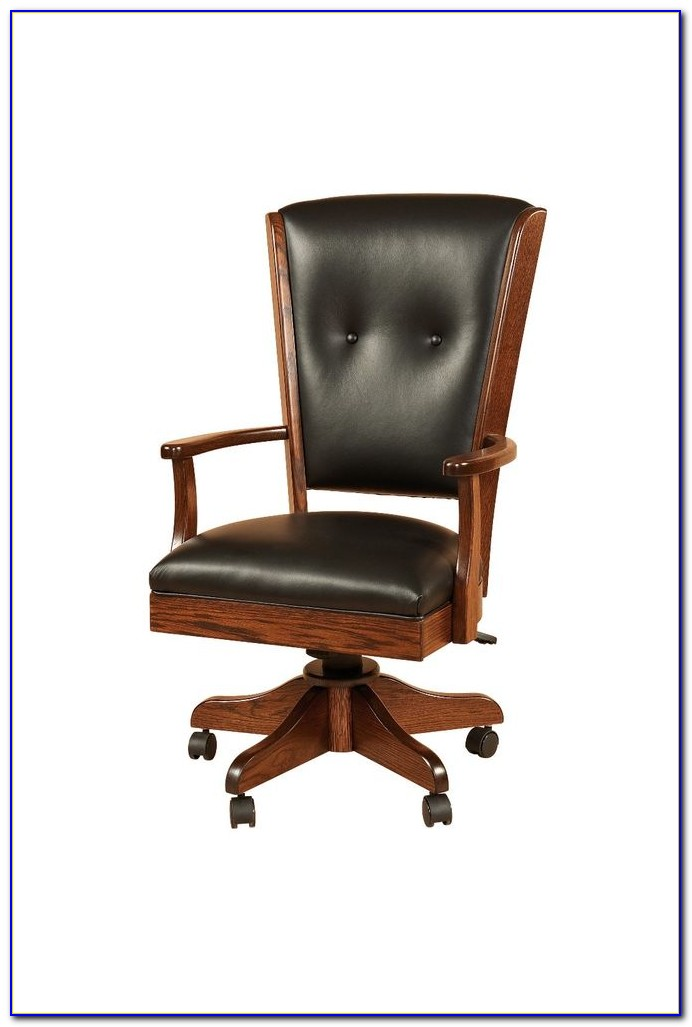 Wooden Swivel Office Chair Uk