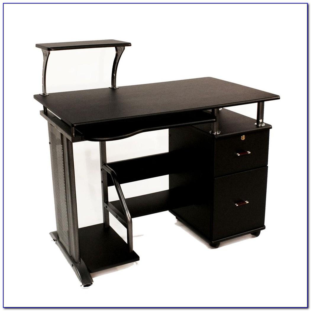 Workstation Desk With Storage