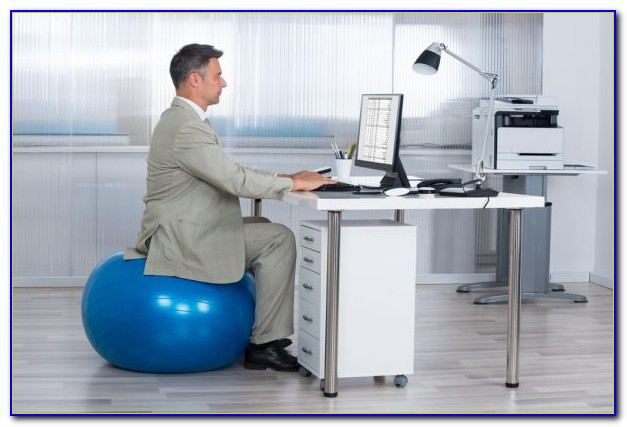 Yoga Ball At Your Desk