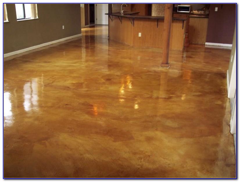 Acid Stain Concrete Floors Miami
