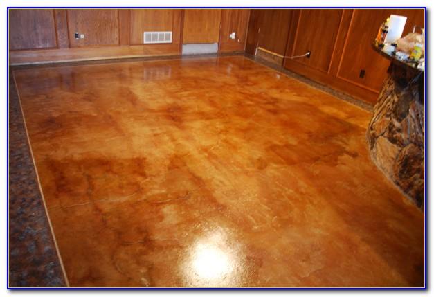 Acid Stain Concrete Floors Stamped Patios