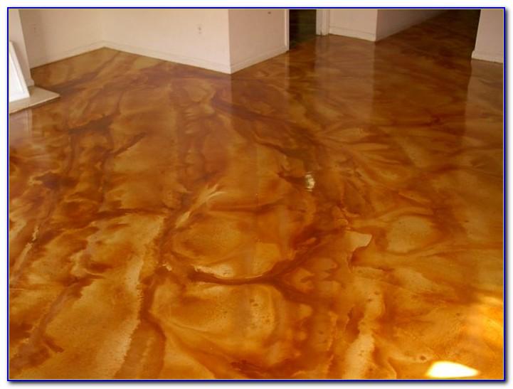 Acid Stain Concrete Floors Videos