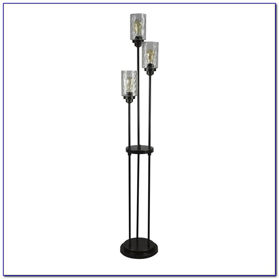 Allen Roth Bronze Floor Lamp