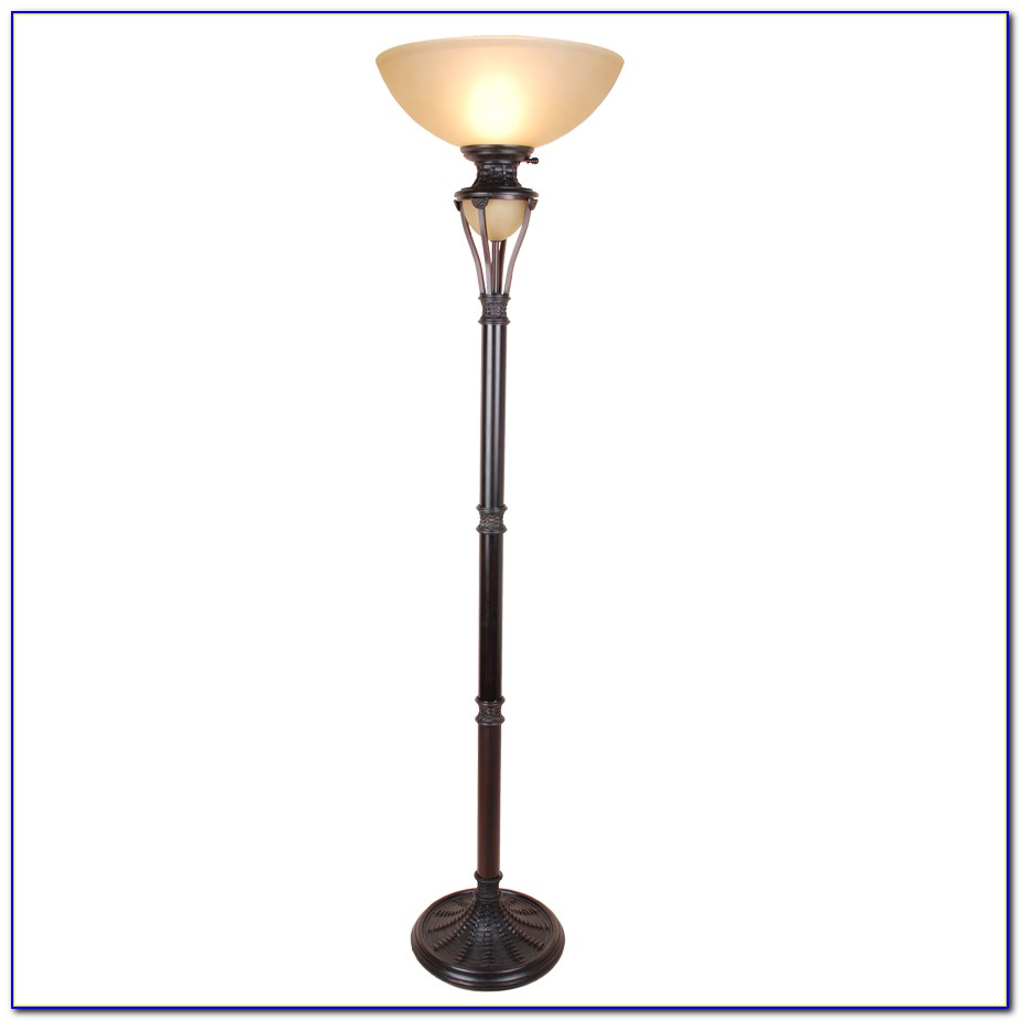 Allen Roth Swing Arm Floor Lamp