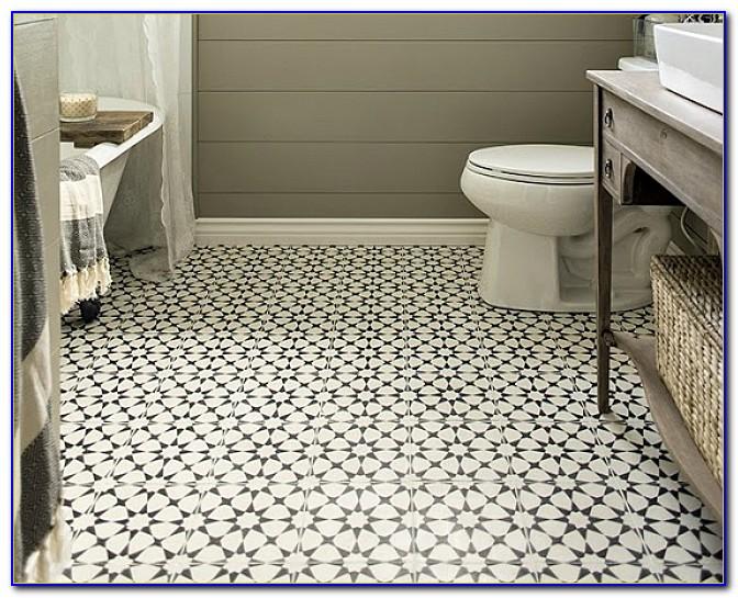 Bathroom Floor Tile Patterns Ideas