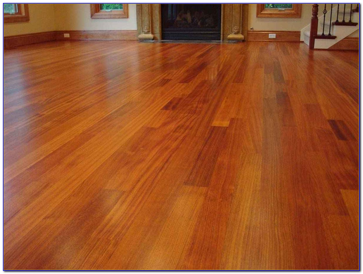 Brazilian Cherry Wood Flooring Cleaning