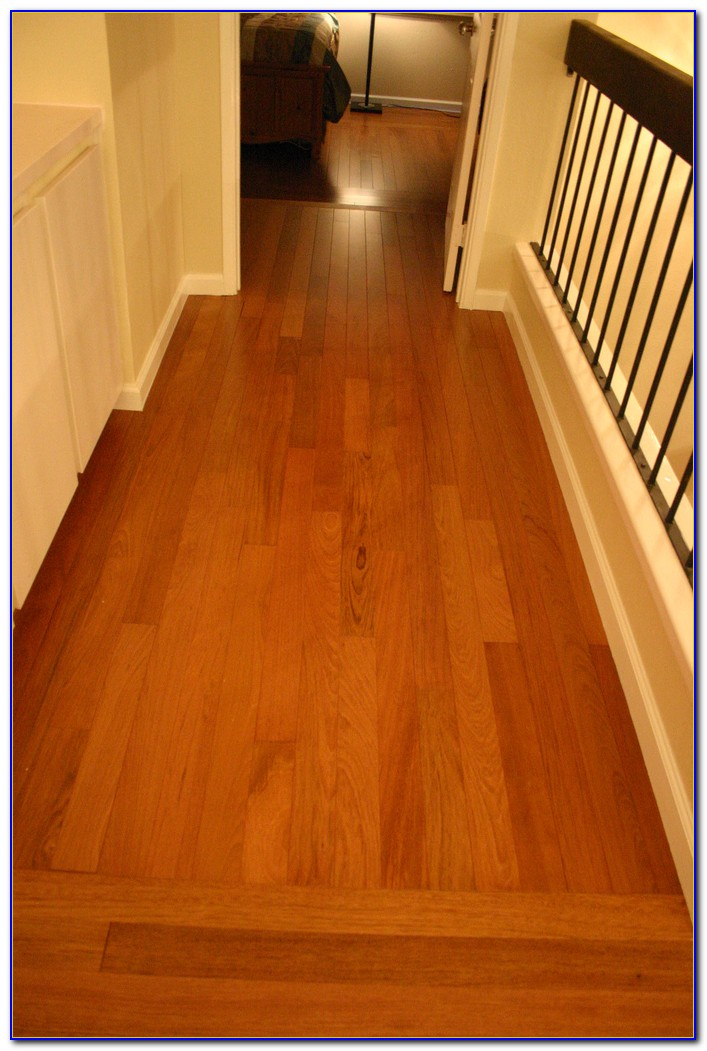 Brazilian Cherry Wood Flooring Installation