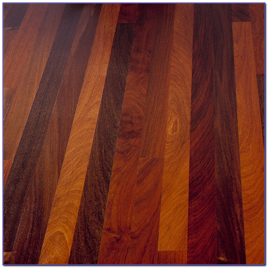 Brazilian Walnut Hardwood Flooring Handscraped