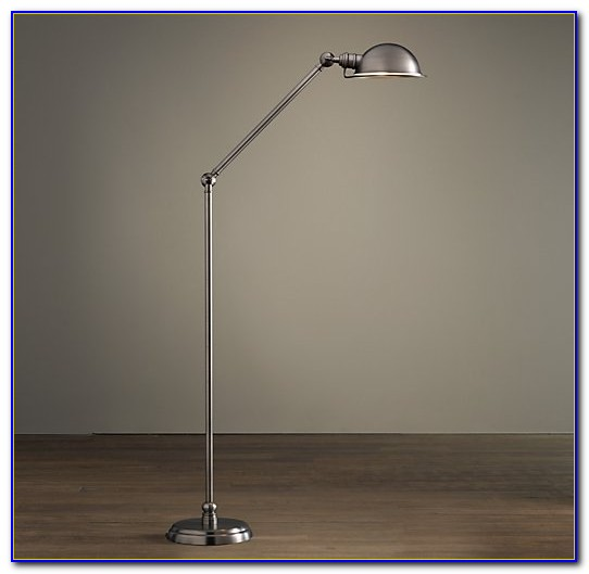 Brushed Nickel Floor Lamp Base