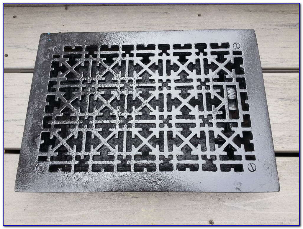 Cast Iron Floor Grilles