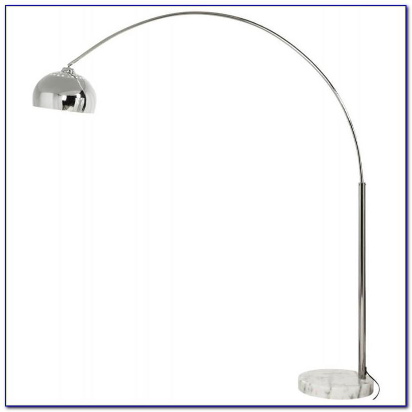 Chrome Boom Arc Floor Lamp