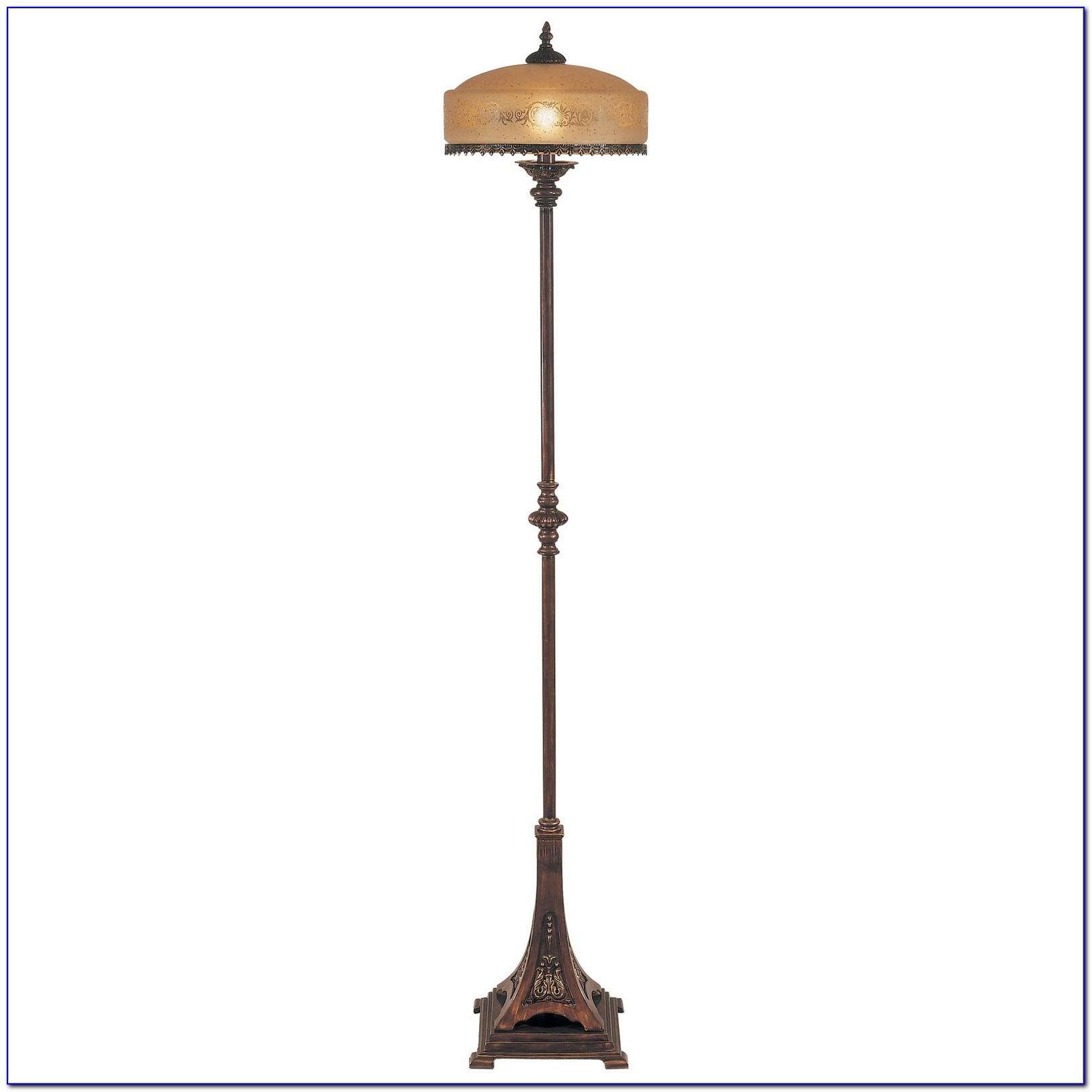 Dale Tiffany Floor Lamp Dragonfly Torchiere