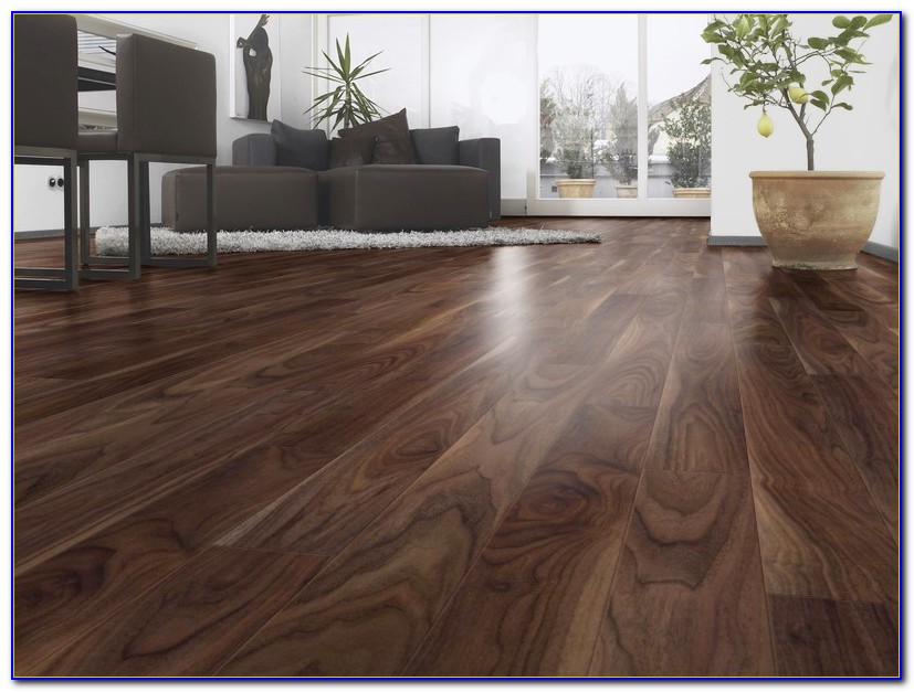Dark Wooden Laminate Flooring