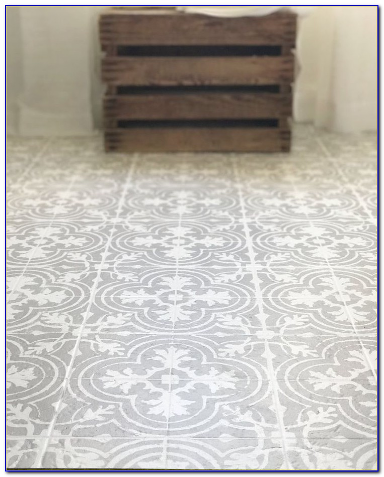 Diy Painting Ceramic Floor Tiles