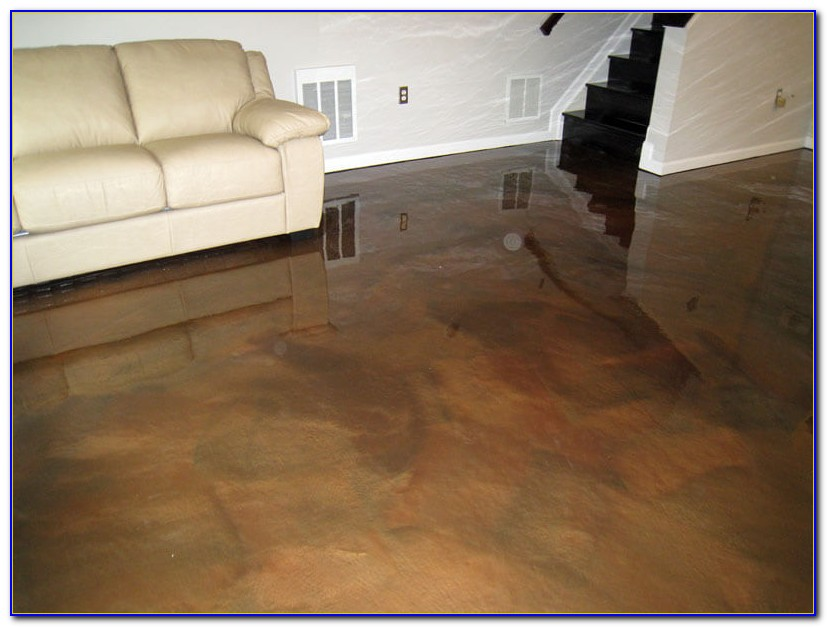 Epoxy Basement Floor Paint Instructions